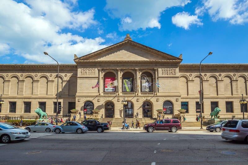 L'istituto di arte di Chicago fotografie stock libere da diritti