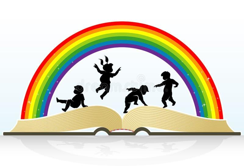 L'istruzione dei bambini royalty illustrazione gratis