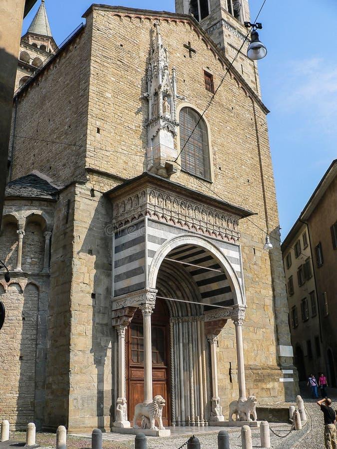 L'Italia Bergamo fotografie stock libere da diritti