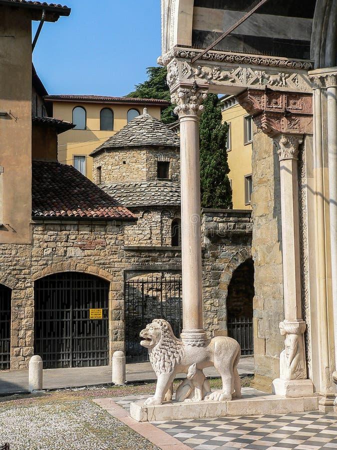 L'Italia Bergamo fotografia stock