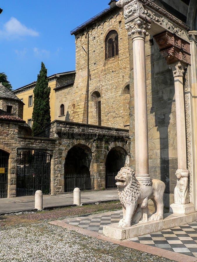 L'Italia Bergamo fotografie stock
