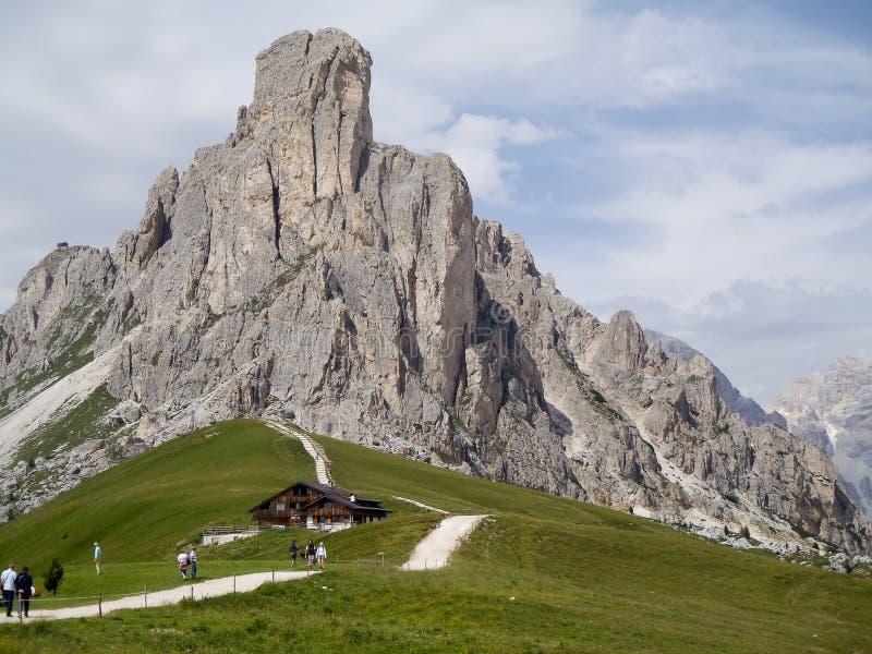 L'Italia - Dolomiti fotografia stock