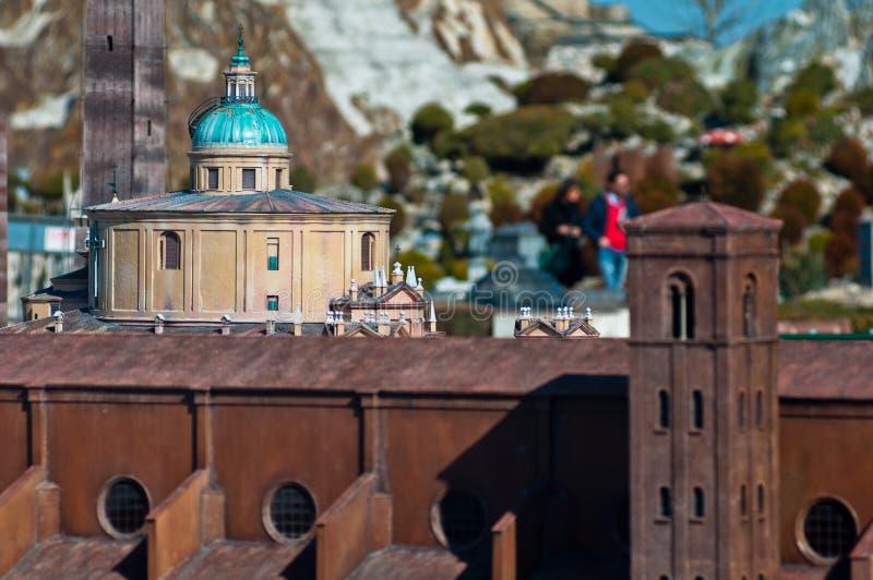 L'Italia mini immagini stock