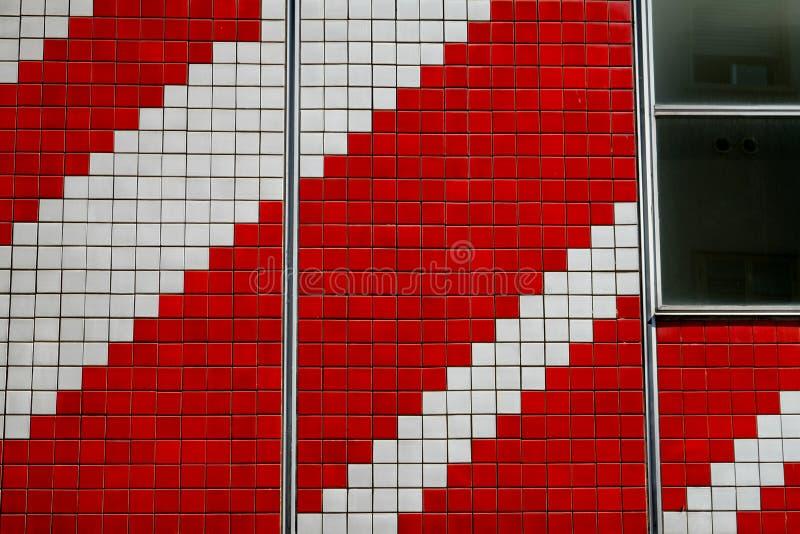 L'Italia, progettazione, facciata in una costruzione immagini stock