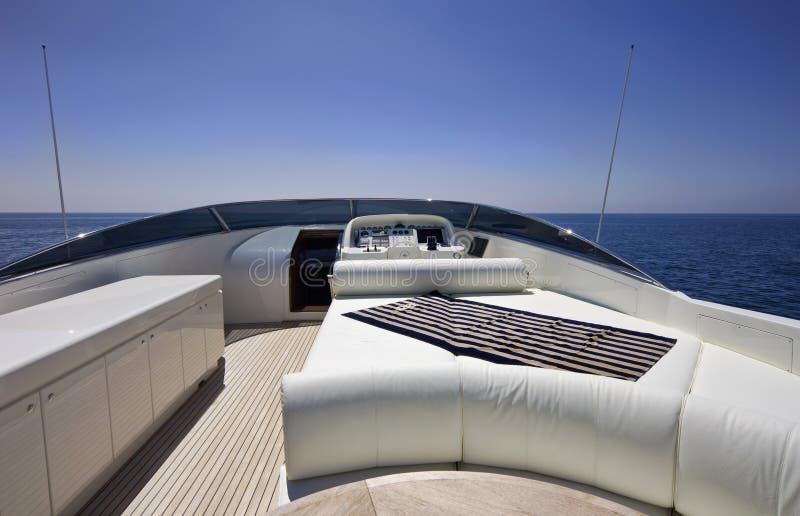 L'Italia, S.Felice Circeo (Roma), yacht di lusso immagini stock