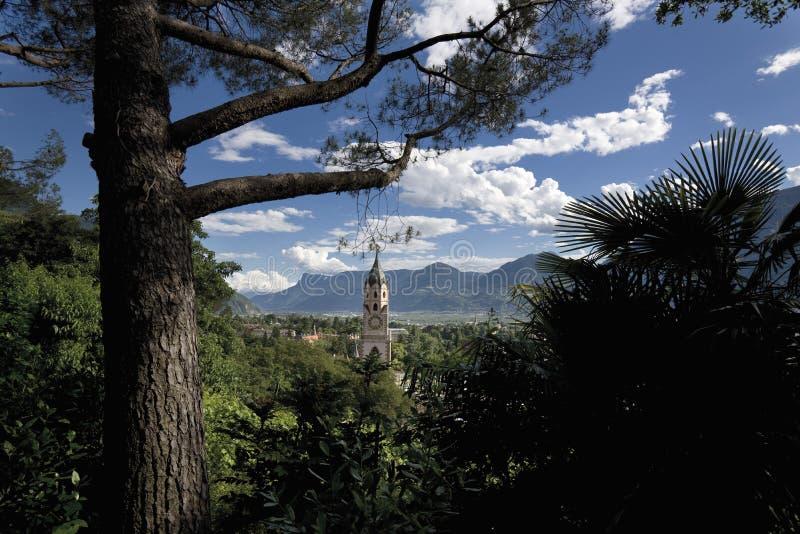 L'Italia, Tirolo del sud, Meran fotografie stock libere da diritti