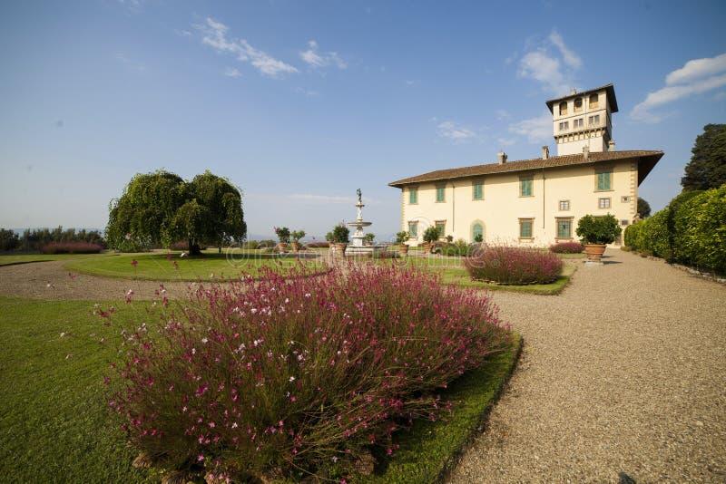 L'Italia, Toscana, Firenze, villa di Petraia immagini stock