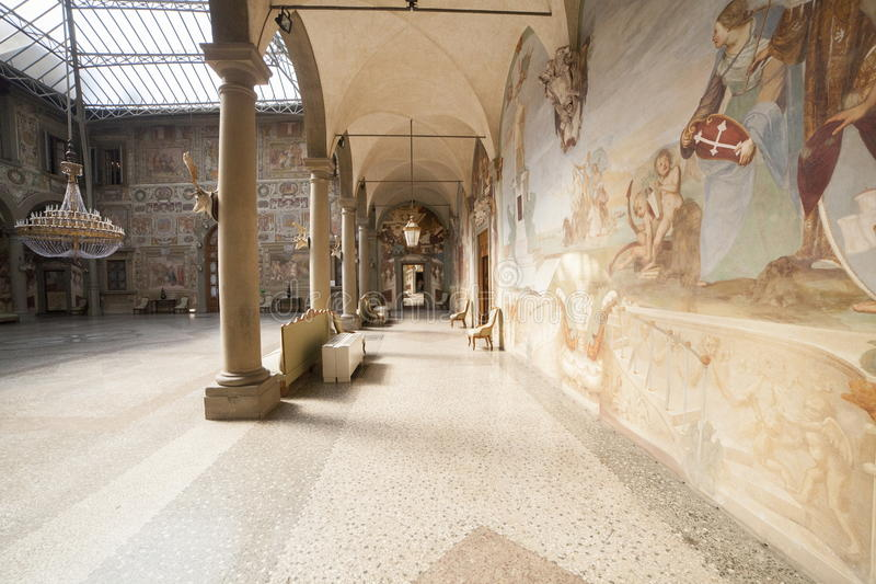 L'Italia, Toscana, Firenze, villa di Petraia immagine stock libera da diritti