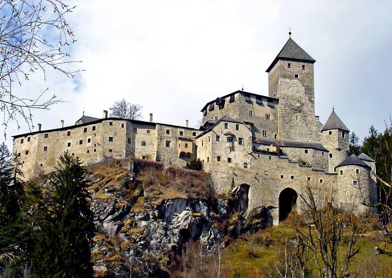 L'Italia, Trentino Alto Adige, Bolzano, campo Tures, Pusteria val, marzo, 04 del 2008, visita al castello di Taufers fotografia stock libera da diritti