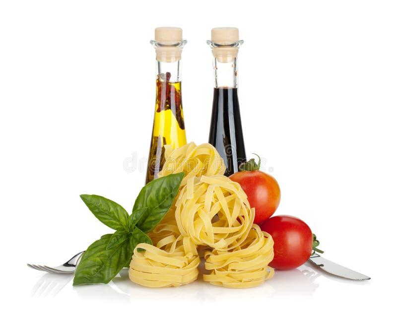 L'italiano colora l'alimento fotografie stock