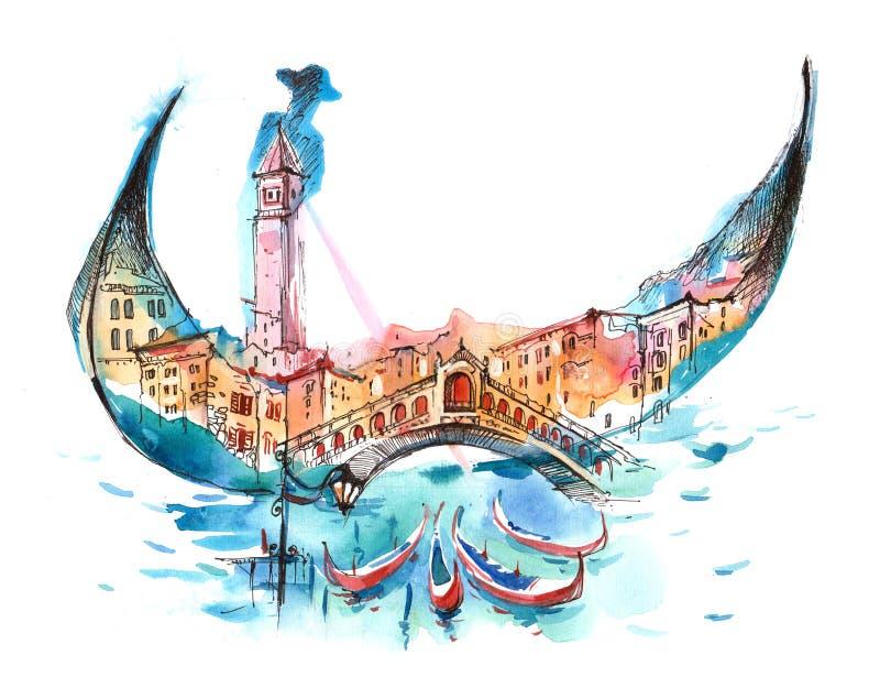 l'Italie illustration de vecteur