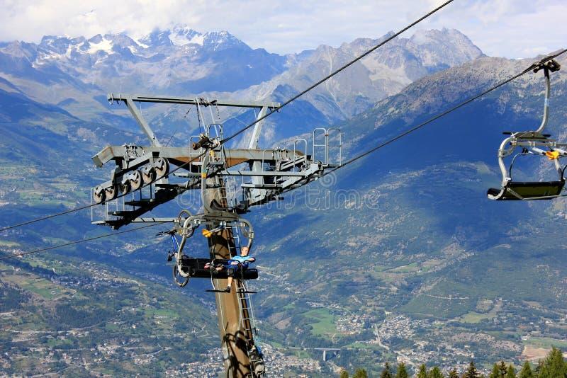 L'Italie, Aosta photo stock