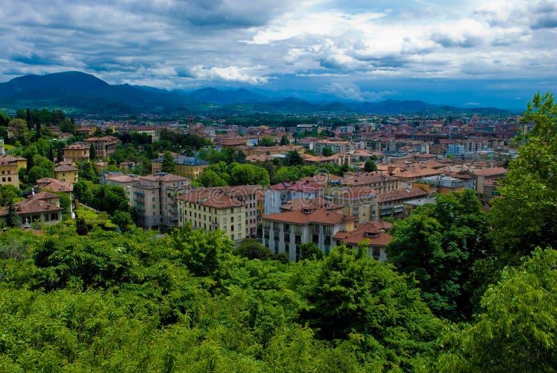L'Italie, Bergame photo stock