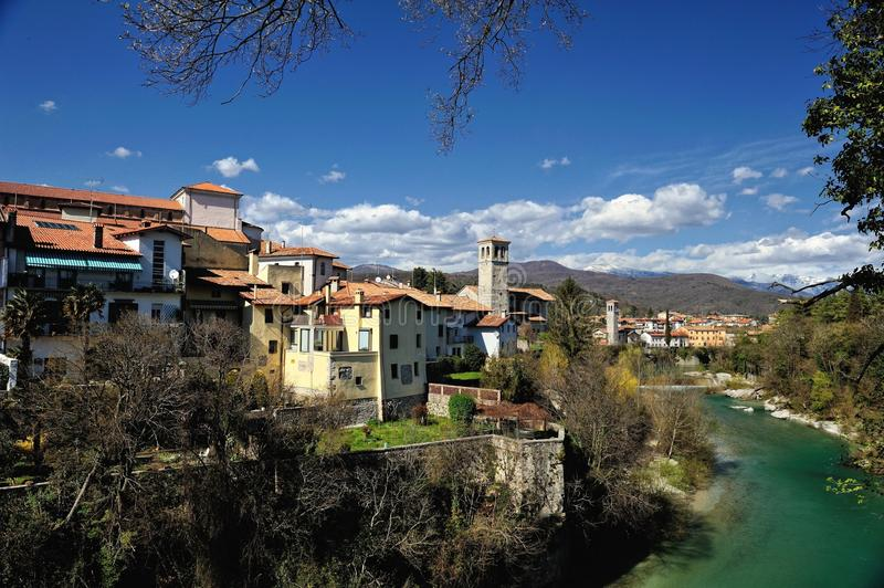 L'Italie Cividale del Friuli photo stock