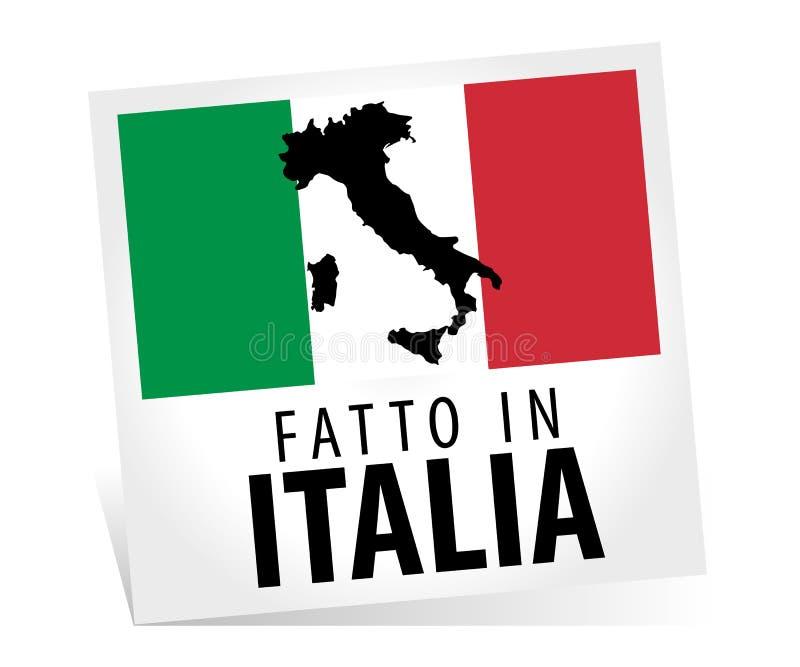 l'Italie a effectué illustration libre de droits