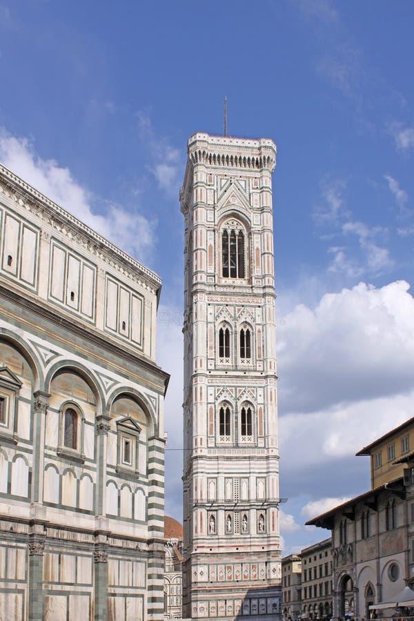 l'Italie Florence Campanile de Duomo (tour de cloche) photographie stock libre de droits