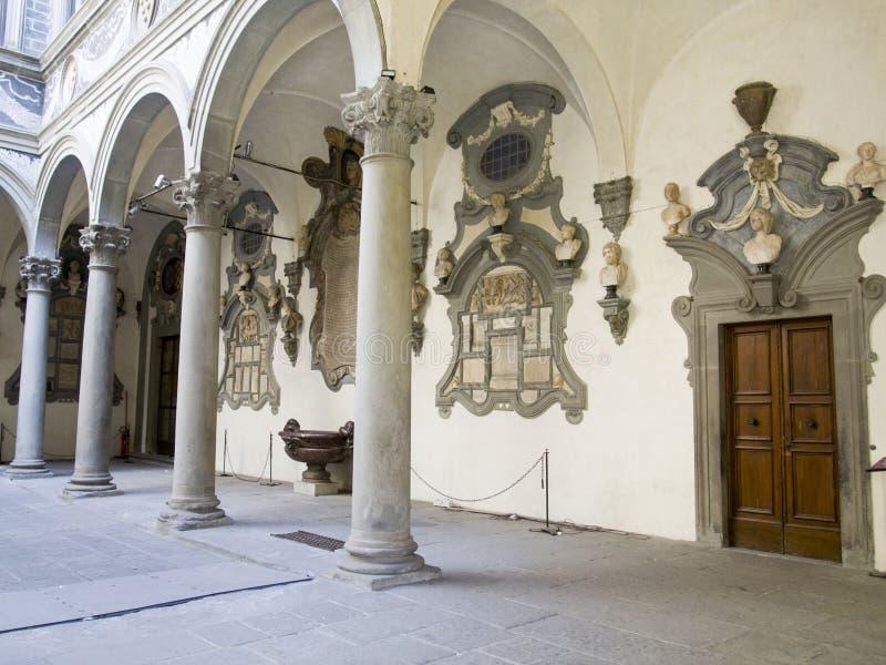 L'Italie, Florence, le palais de Medici Riccardi photographie stock