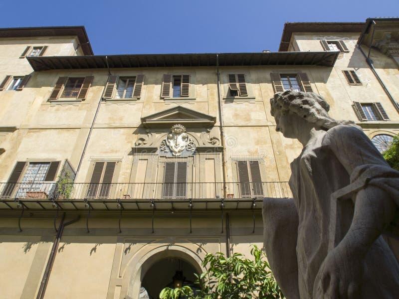 L'Italie, Florence, le palais de Medici Riccardi image libre de droits