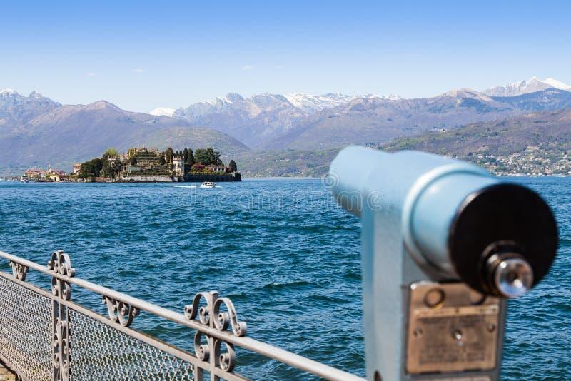 L'Italie - l'Isola Bella image stock