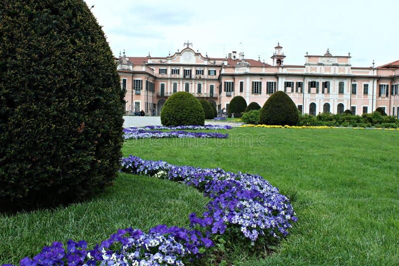 L'Italie, Lombardia, Varèse : Villa Mirabello photos stock