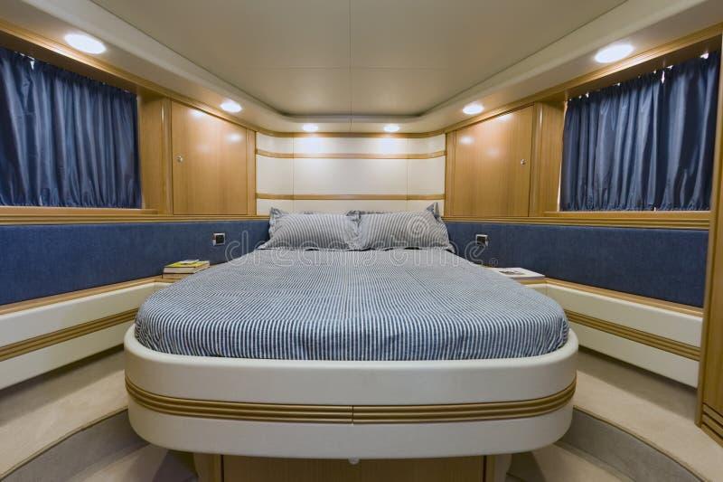 l'Italie, mer de Tirrenian, yacht de luxe de l'Aqua 54 de Baia ' image libre de droits