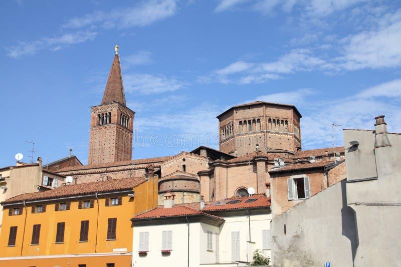 l'Italie - Piacenza image libre de droits