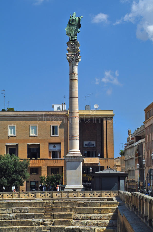 L'Italie, Puglia, Lecce, photo libre de droits