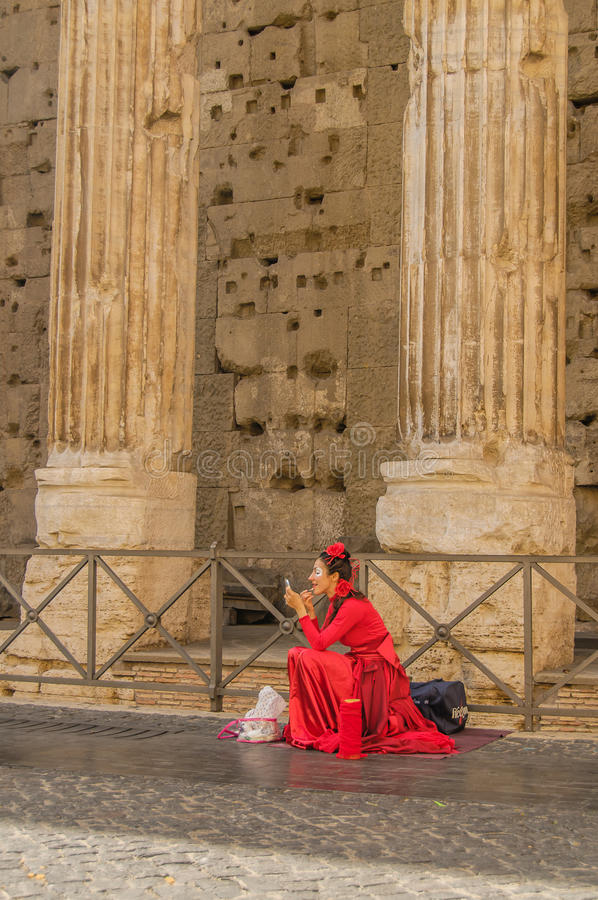L'Italie - Rome - centre de la ville images stock