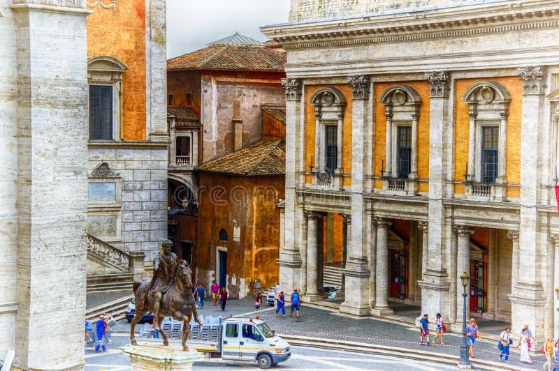 L'Italie, Rome, colline de Capitoline photos libres de droits