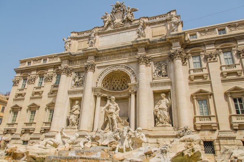 L'Italie - Rome - fontaine de TREVI photographie stock