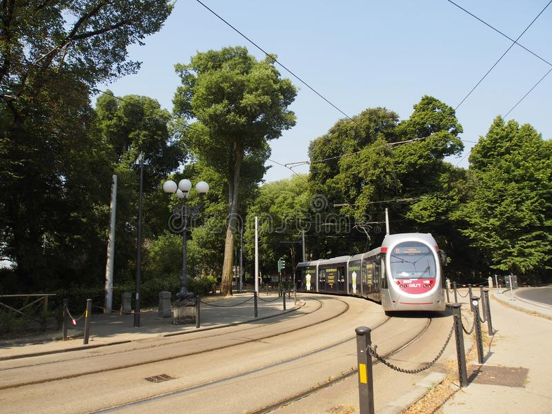L'Italie, Toscane, Florence, le traway photos stock