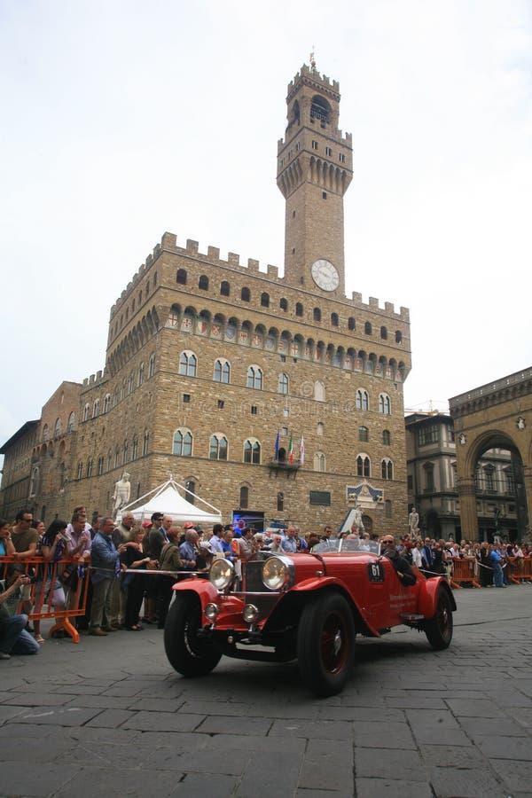 L'Italie, Toscane, Florence, Millemiglia images libres de droits