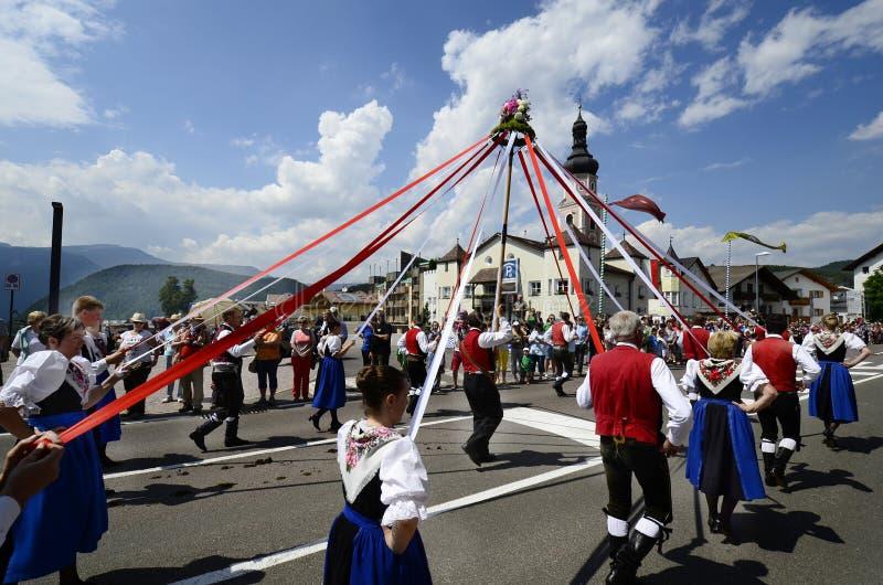 L'Italie, Tyrol du sud photos stock