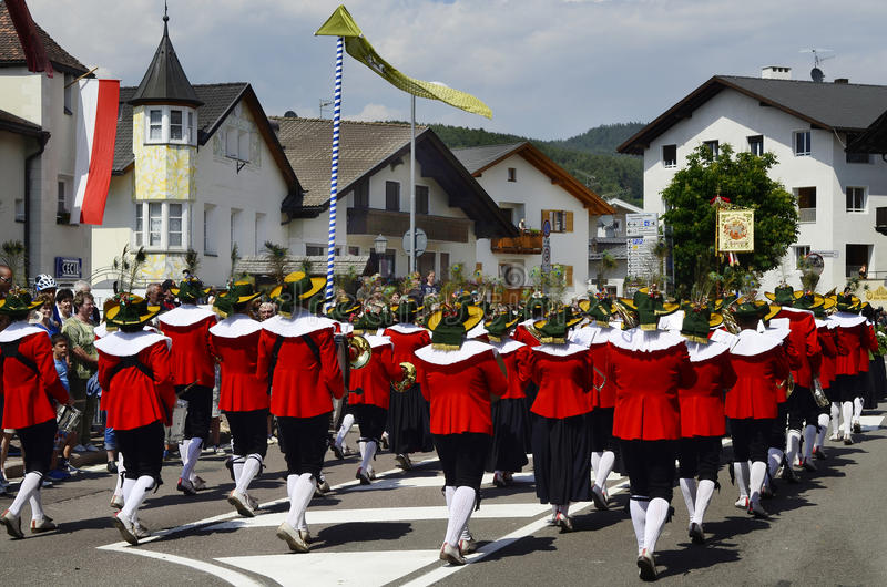 L'Italie, Tyrol du sud images libres de droits