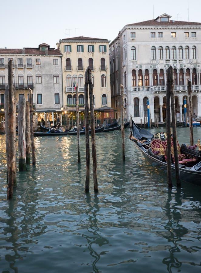 l'Italie Venise Centre de la ville Belle architecture L'eau et gondoles photographie stock libre de droits