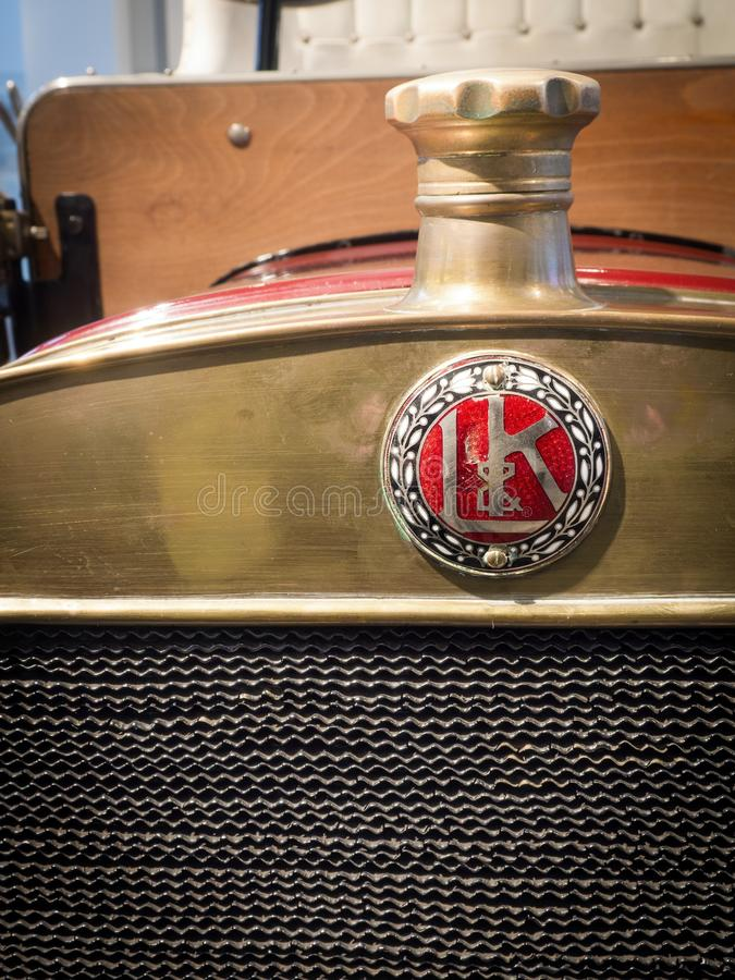 L & K Voiturette Type A - Veteran Car Editorial Stock Image - Image ...