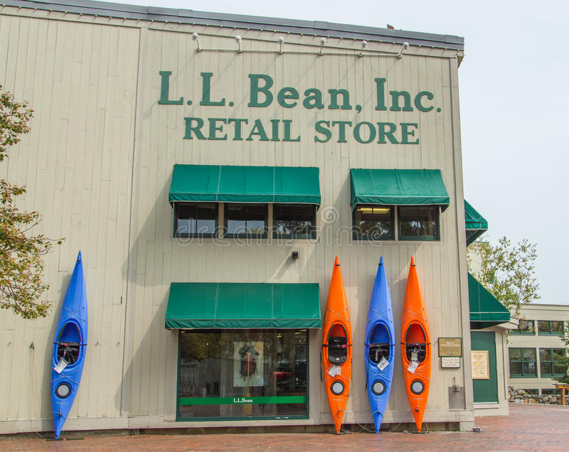 Download L.L. Bean Retail Store editorial stock photo. Image of north - 33746448