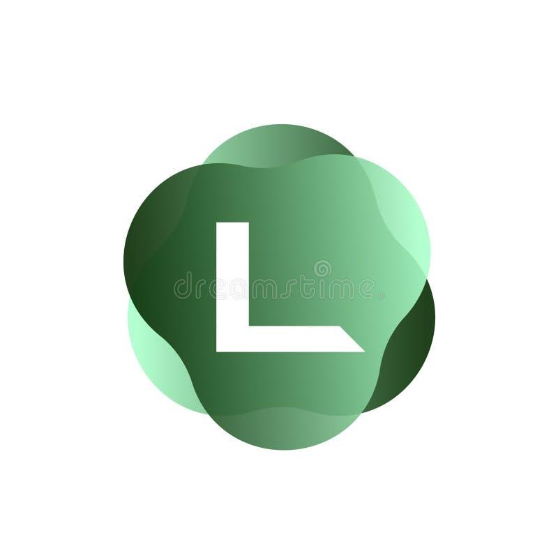 L Letter Logo vector illustration