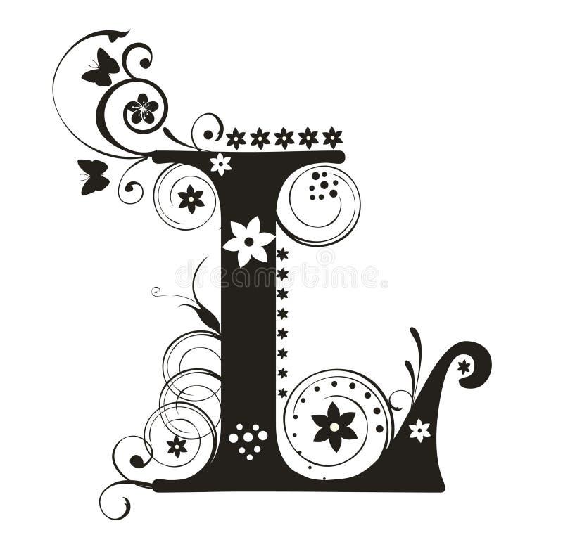 l list royalty ilustracja