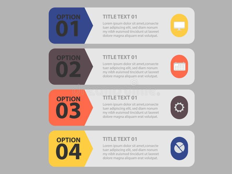 ?l?ment cr?atif d'Infographic d'affaires avec l'illustration cr?ative de conception - Le fichier du vecteur illustration stock