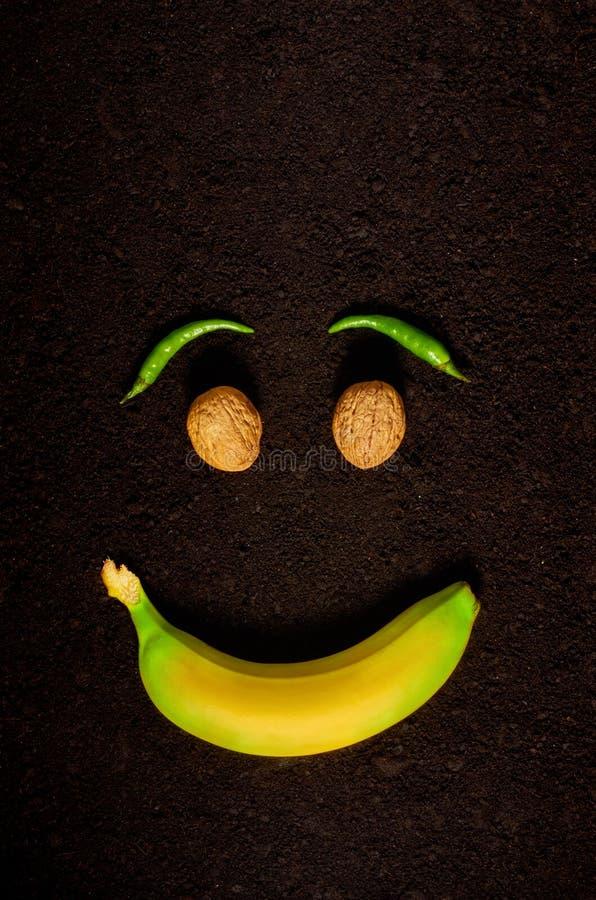 L'?motion de la joie ? l'aide des produits biologiques photo libre de droits