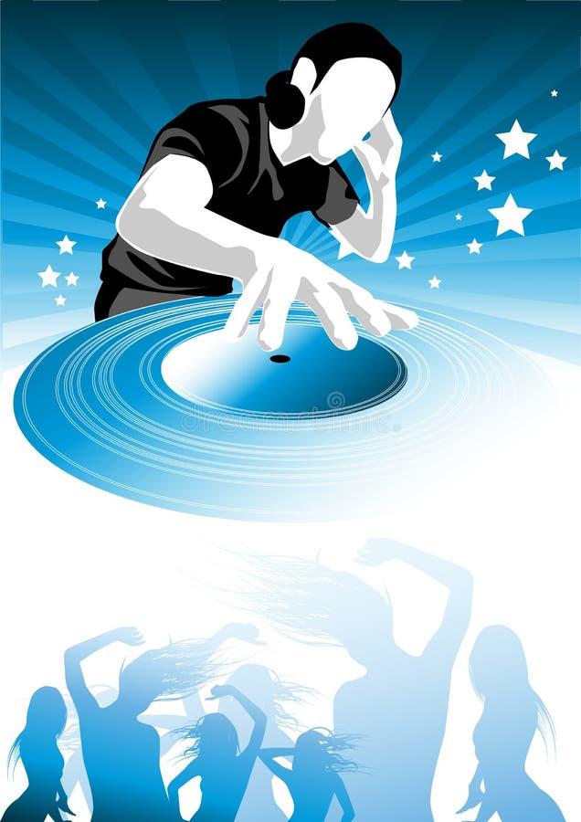 l musikpassion vektor illustrationer