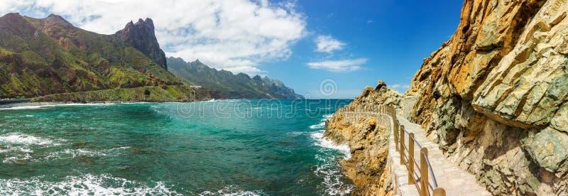 L?ndlicher Park Anaga, Teneriffa, Kanarische Inseln, Trekking lizenzfreies stockfoto