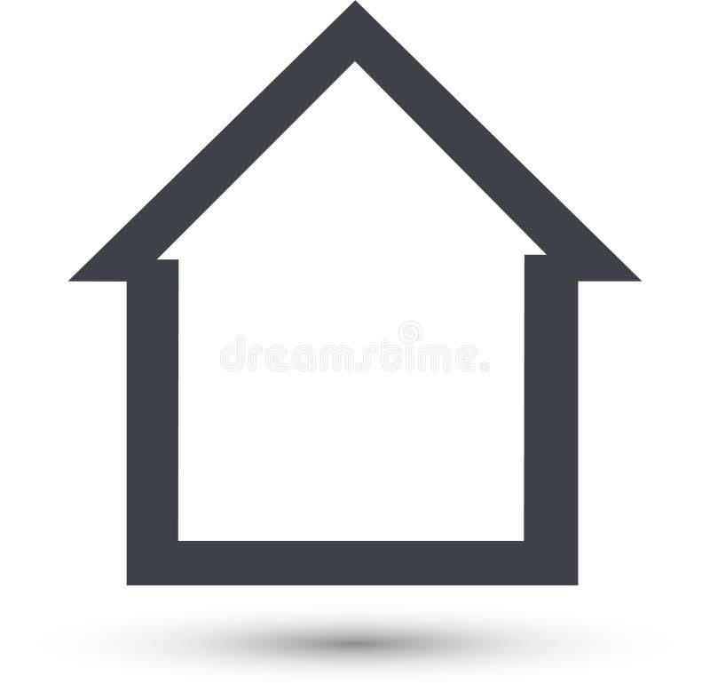 L?nea casera icono del vector S libre illustration