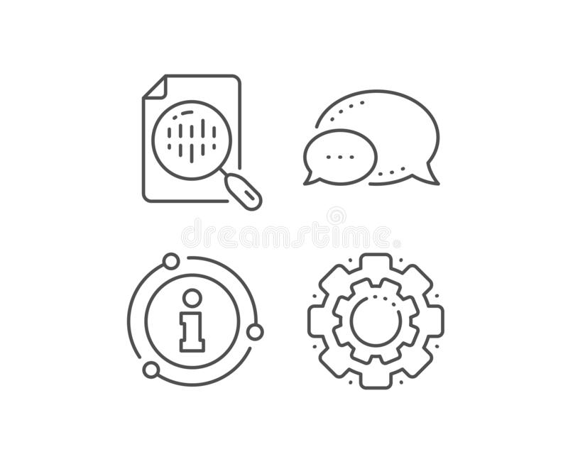 L?nea de carta del diagrama icono Muestra del gr?fico del Analytics Vector ilustración del vector
