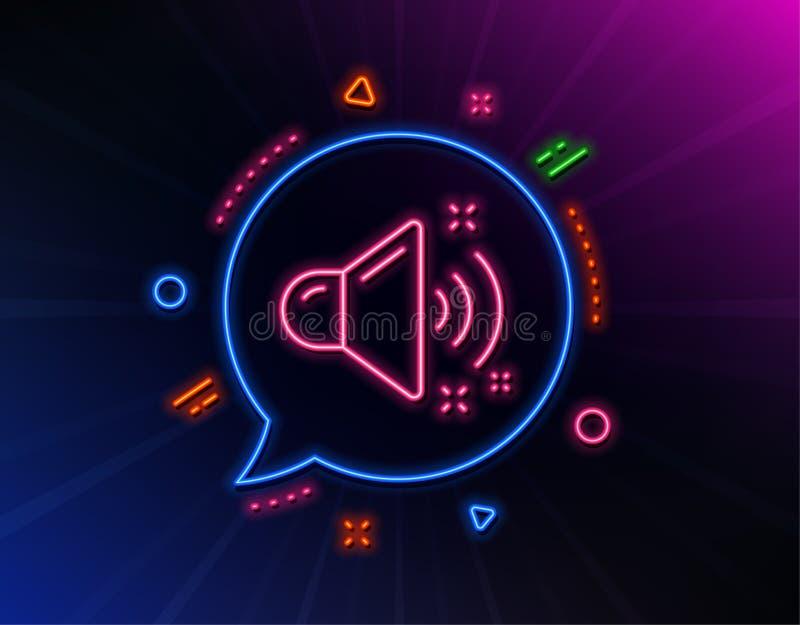 L?nea ruidosa icono de los sonidos Muestra de la m?sica Vector stock de ilustración
