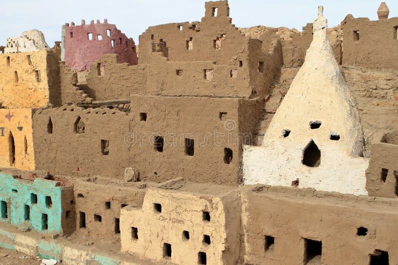 L'oasis de Siwa au Sahara de l'Egypte photo stock