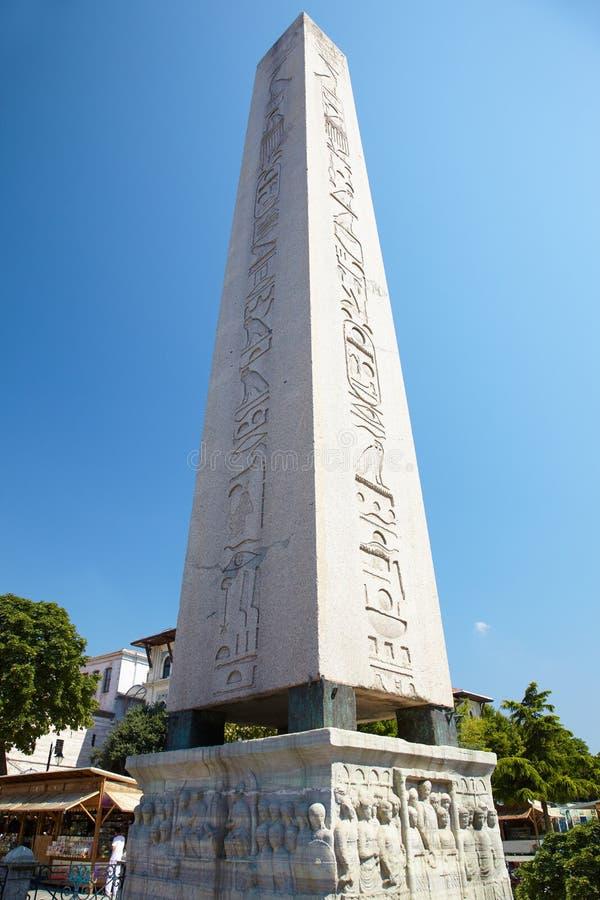 L'obélisque de Theodosius (obélisque égyptien), Istanbul image stock