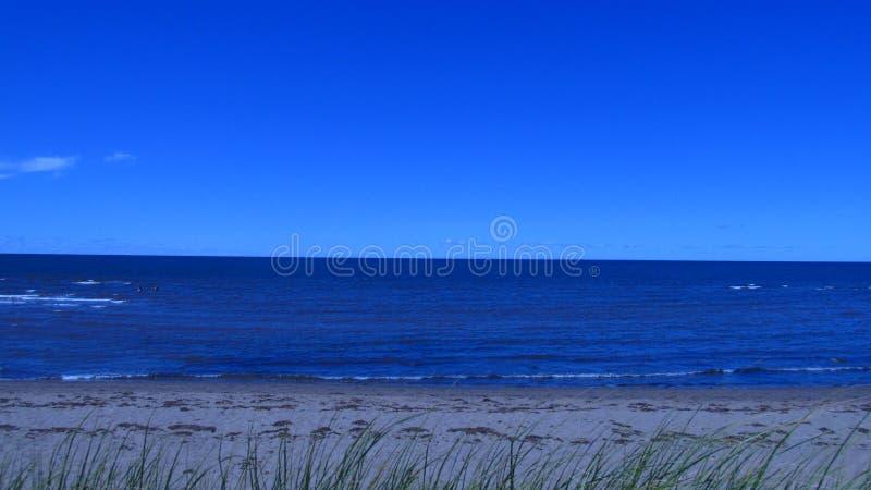 L'Océan Atlantique outre de la côte du Canada images libres de droits