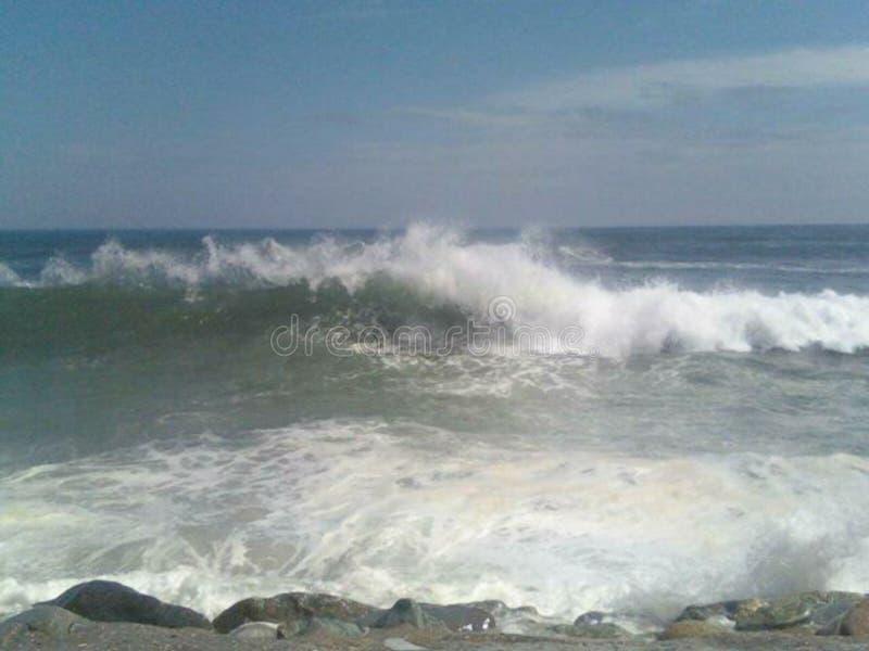 L'océan fâché image libre de droits